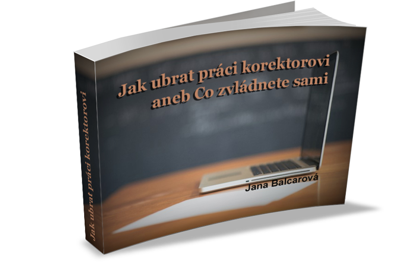 ebook korektury